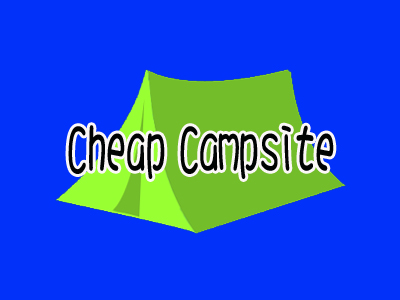 Cheap campsites
