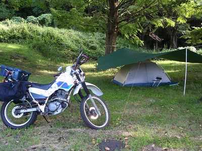 Shidakako campsite